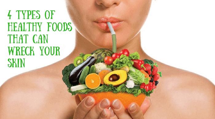alimentación para piel saludable