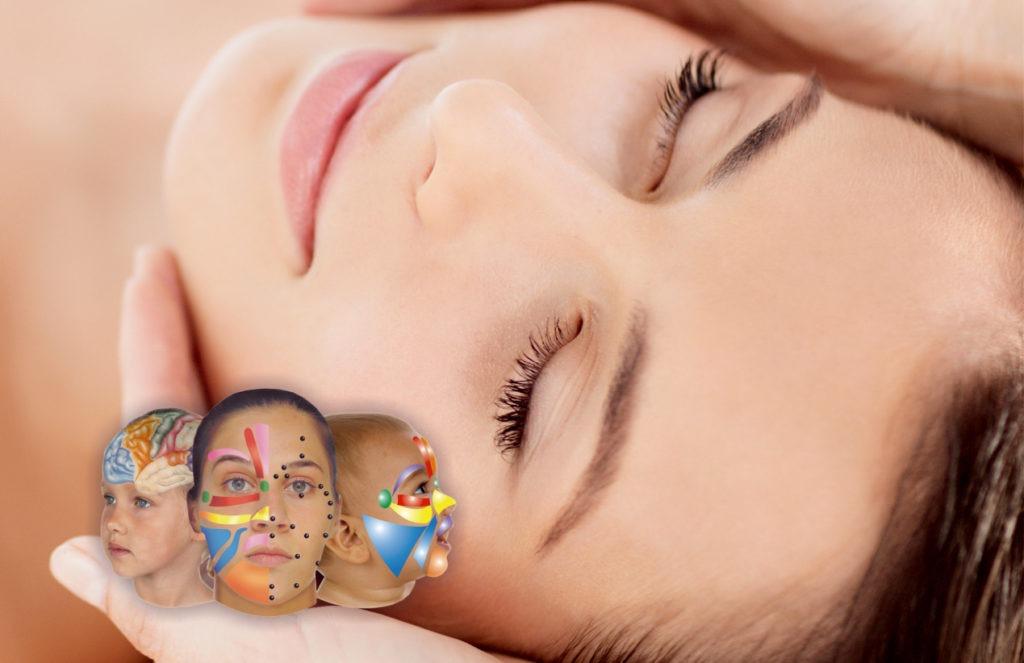 reflexología facial gabinete de estética