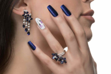 Nail Art en uñas esculpidas