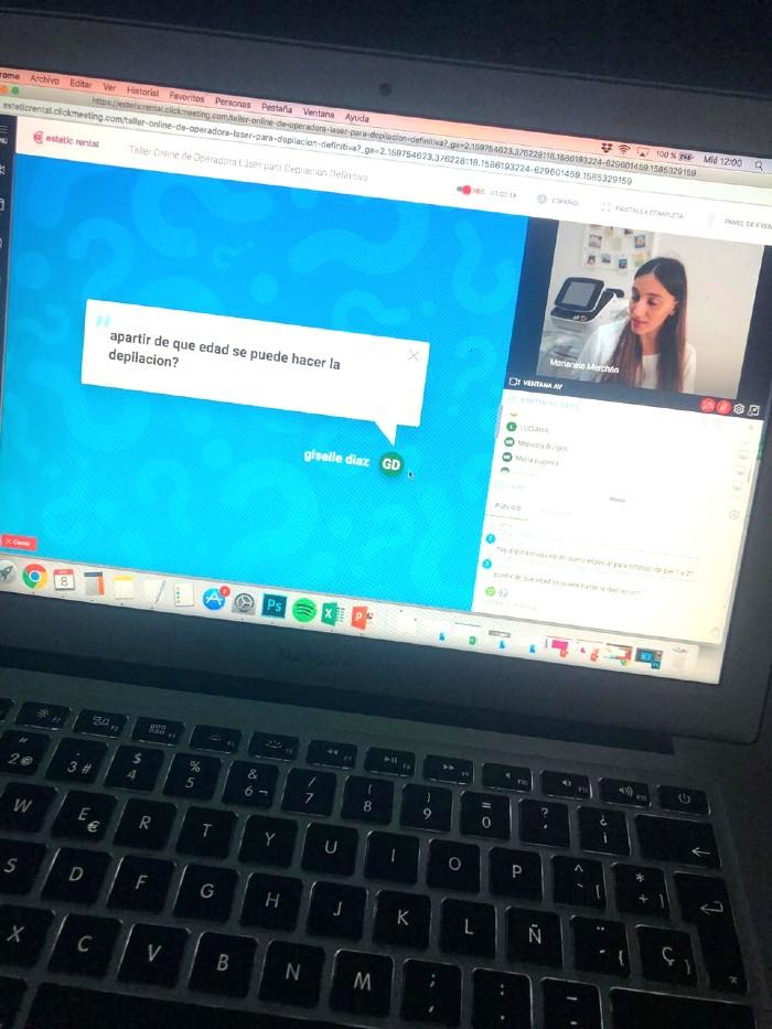 Curso Online Depilacion En vivo
